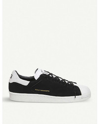 Adidas Y3 Y 3 Superstar Knot Suede Low Top Trainers
