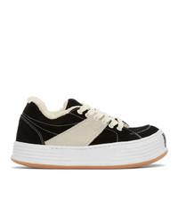 Palm Angels Black Snow Low Top Sneakers