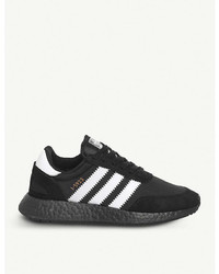 adidas Iniki Runner Stretch Mesh And Suede Trainers