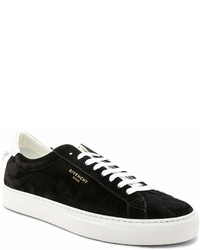 Givenchy Suede Urban Street Low Top Sneakers