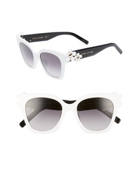 Marc Jacobs 52mm Daisy Cat Eye Sunglasses