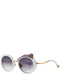 Karlsson Anna Karin Rose Et La Roue Round Sunglasses