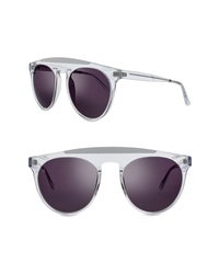 Smoke X Mirrors Atomic 52mm Round Sunglasses