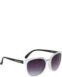 BCBGMAXAZRIA Oversized Round Sunglasses