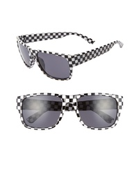 Vans Darr Check 55mm Wrap Sunglasses