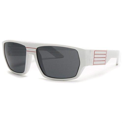 beb0392818 ... Efocus White Frame Oversized Retro Sunglasses With Square Frame