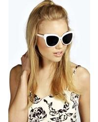 Boohoo Emma Retro Frame Sunglasses