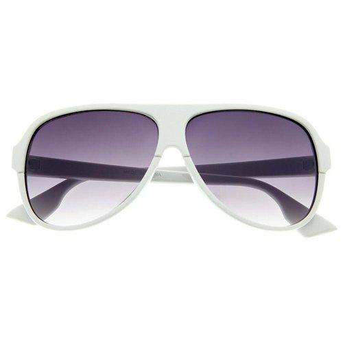 grinderPUNCH Plastic Tear Drop Frame Aviator Sunglasses Sunnies ...