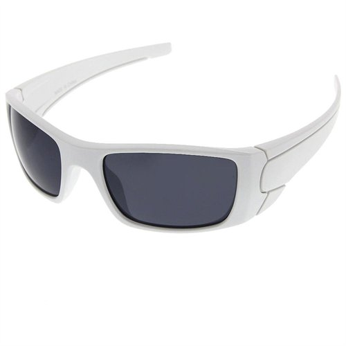 white sport sunglasses  grinderPUNCH Sport Designer Inspired Wrap Around Sunglasses Soft ...