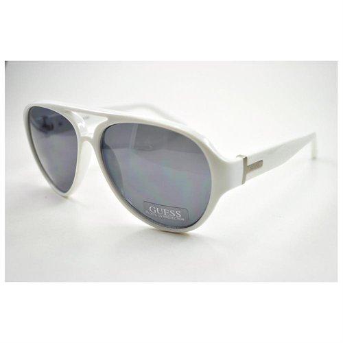 38275ffee65 ... GUESS Sunglasses Gu 6730 White Silver 59mm