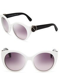Marc by Marc Jacobs Oversized Embellished Temple Sunglasses