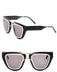 Smoke X Mirrors Soda Pop 48mm Angular Sunglasses