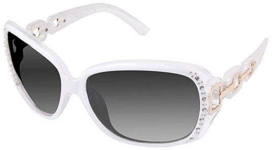 Southpole South Pole Rhinestone And Chain Rectangular Sunglasses