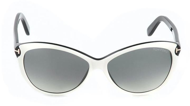 9b93d4102da Telma Sunglasses. Black and White Sunglasses by Tom Ford
