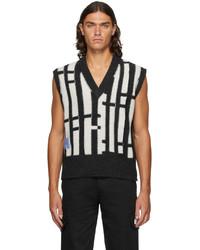 McQ Linear Knit Vest