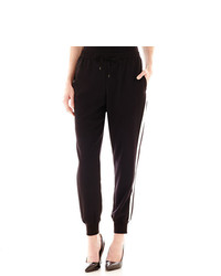jcpenney Ana Ana Side Striped Woven Soft Pants