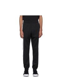 adidas Originals Black And White 3 Stripe Wrap Track Pants