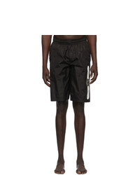 Gucci Black Logo Swim Shorts