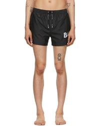 Balmain Black Logo Swim Shorts