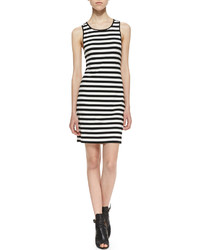 Black and White Tank Dress