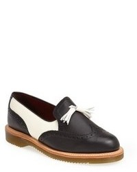 Black and white tassel loafers original 9647032