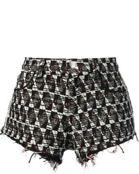 Iro tweed embroidered shorts medium 343309