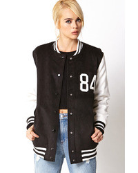 Borrowed from the boys varsity jacket medium 25363