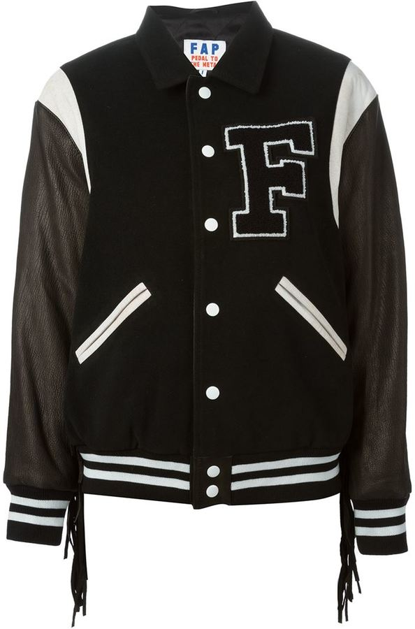 Filles a papa Fringed Baseball Jacket | Where to buy & how to wear