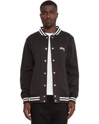 Stussy Fleece Varsity Jacket