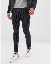Jack & Jones Premium Jersey Pinstripe Trousers