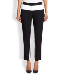 Prabal Gurung Contrast Stripe Cropped Pants