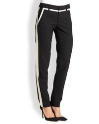 Vince Stretch Wool Straight Leg Pants