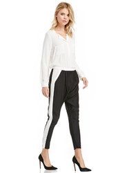 Your side pants in black white xs s medium 146140
