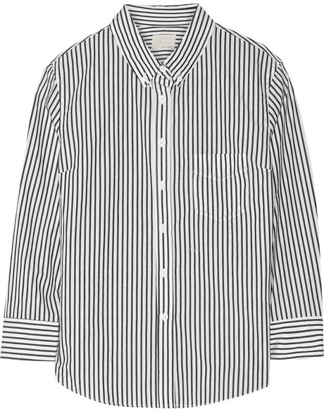 Band Of Outsiders Striped Cotton Shirt | Where to buy & how to