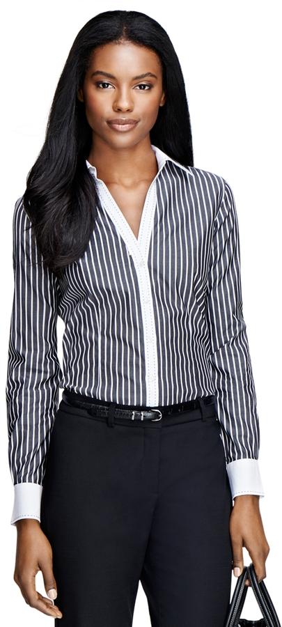 Bold Stripe Dress Shirt