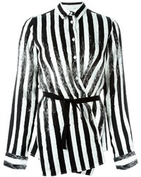 MM6 MAISON MARGIELA Striped Wrap Shirt