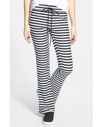 Painted Threads Stripe Flare Leg Pants