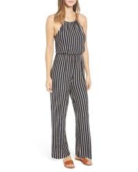 RVCA Hush Stripe Jumpsuit