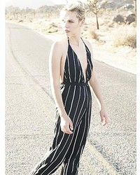 Faithfull The Brand Shutterbabe Jumpsuit In Sarah Stripe