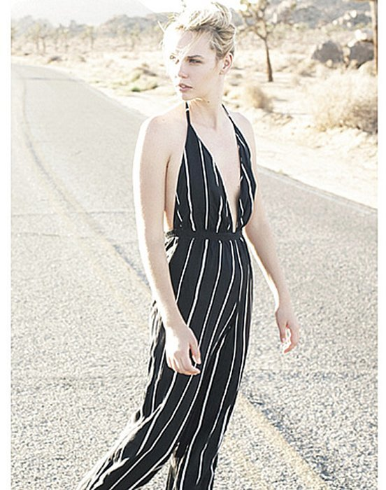 c49142e3061 ... Faithfull The Brand Shutterbabe Jumpsuit In Sarah Stripe