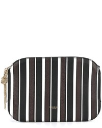 Striped clutch medium 1252154