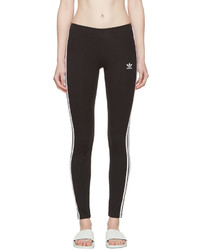 Originals black three stripes leggings medium 1334155