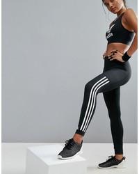 adidas Training Workout Three Stripe Leggings