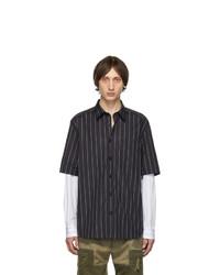 Diesel Black S Alek Shirt