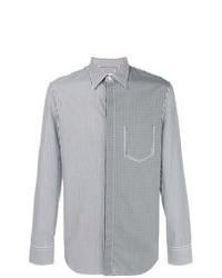 Maison Margiela Contrast Patterned Shirt