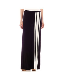 jcpenney Ana Ana Striped Knit Maxi Skirt