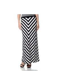 Chelsea & Theodore Chelsea And Theodore Striped Maxi Skirt