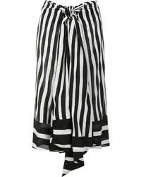 Striped midi skirt medium 1252931