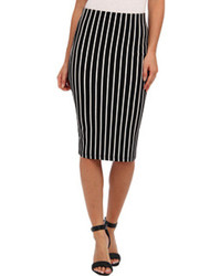 Stripe pencil skirt medium 77363