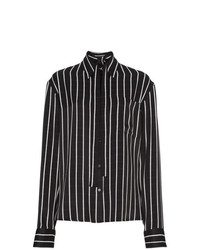 Haider Ackermann Striped Satin Shirt